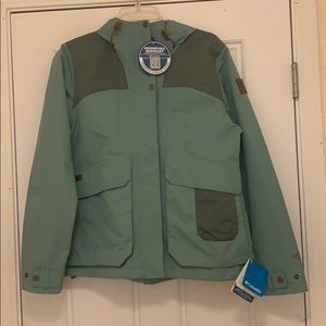 NEW Columbia Rain Jacket